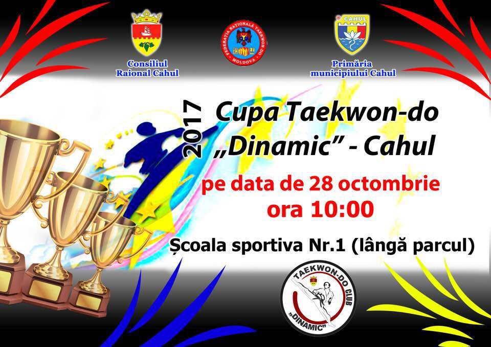 "Cupa Taekwon-do ,,Dinamic""-Cahul"
