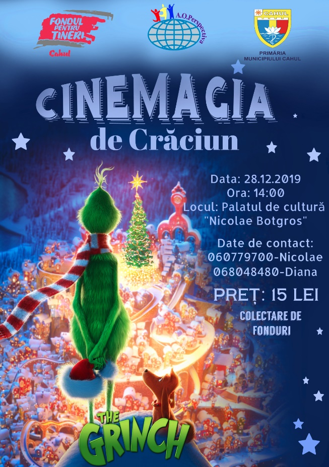 CINEMAGIA DE CRĂCIUN! – The Grinch!